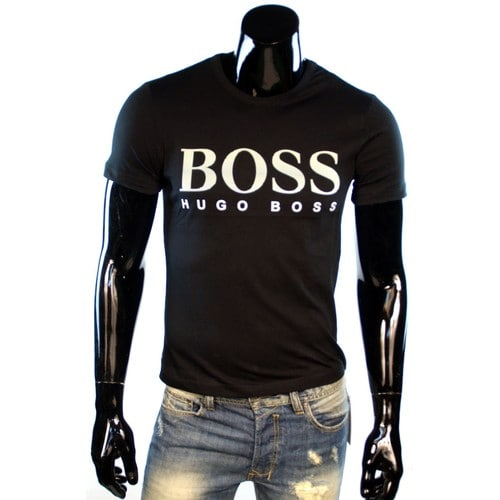 t shirt homme hugo boss achat vente neuf d 39 occasion. Black Bedroom Furniture Sets. Home Design Ideas