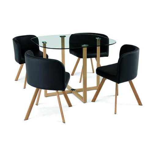table 4 chaises pas cher ou d 39 occasion sur rakuten. Black Bedroom Furniture Sets. Home Design Ideas