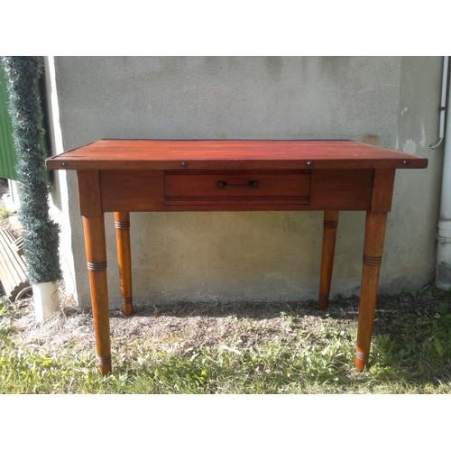 table bois ancienne pas cher ou d 39 occasion sur rakuten. Black Bedroom Furniture Sets. Home Design Ideas