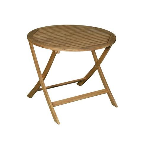table jardin pliante acacia pas cher ou d\'occasion sur Rakuten