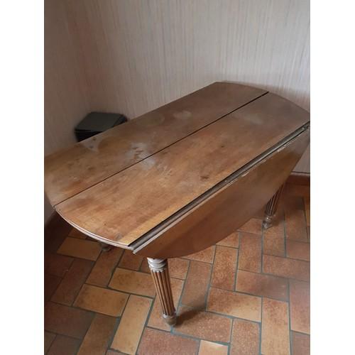 table ronde ancienne pas cher ou d 39 occasion sur rakuten. Black Bedroom Furniture Sets. Home Design Ideas