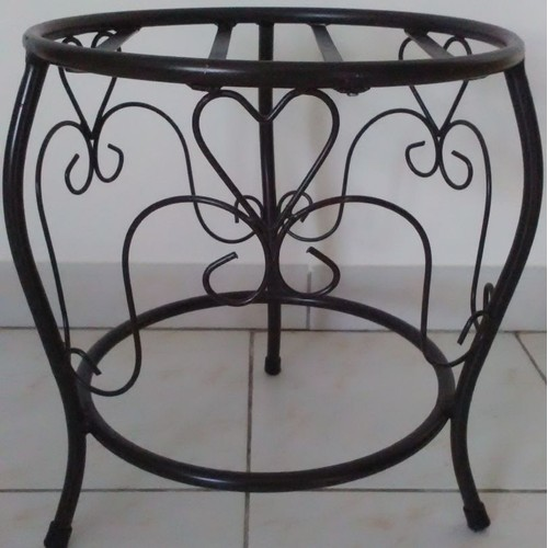tabouret fer finest chaise haute fer forge tabouret table. Black Bedroom Furniture Sets. Home Design Ideas