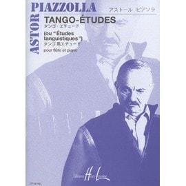 Tango-Etudes (Ou Etudes Tanguistiques) Fl�te Et Piano