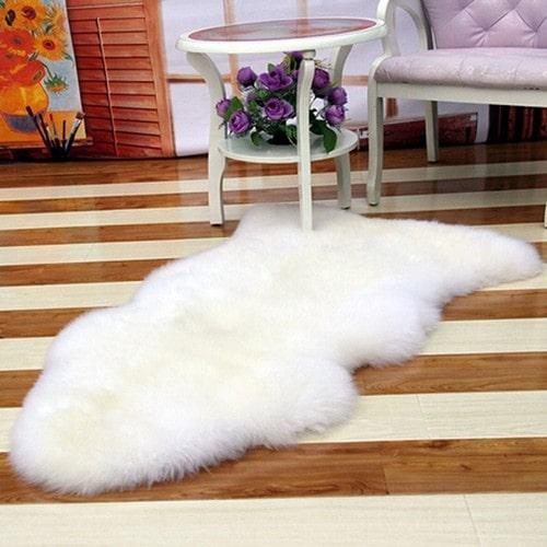 tapis imitation fourrure pas cher ou d\'occasion sur Rakuten