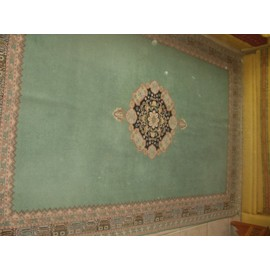 tapis marocain fait main style rabati vert pas cher. Black Bedroom Furniture Sets. Home Design Ideas