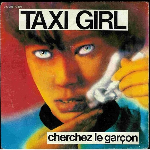 cherchez le gar on taxi girl achat vente de 45 tours rakuten. Black Bedroom Furniture Sets. Home Design Ideas