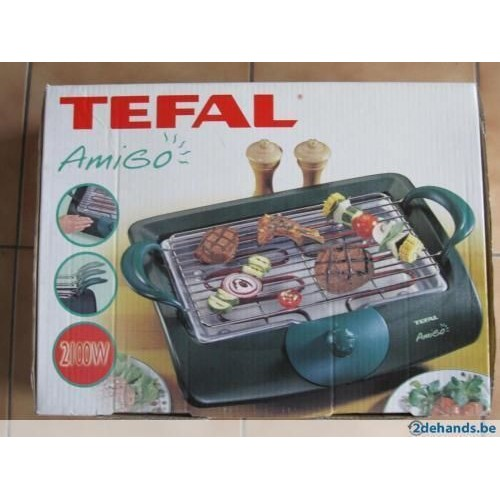 tefal amigo 2162 barbecue table electrique achat et vente. Black Bedroom Furniture Sets. Home Design Ideas