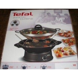 tefal asiatic cuisine multi wok pas cher priceminister. Black Bedroom Furniture Sets. Home Design Ideas
