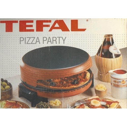 appareil pizza party tefal ustensiles de cuisine. Black Bedroom Furniture Sets. Home Design Ideas