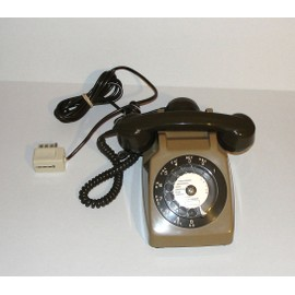 telephone ancien a cadran vert pas cher achat vente priceminister rakuten. Black Bedroom Furniture Sets. Home Design Ideas