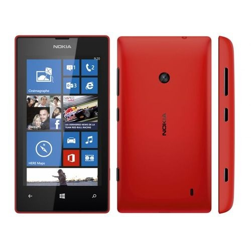t l phone mobile nokia lumia 520 rouge achat vente neuf d 39 occasion. Black Bedroom Furniture Sets. Home Design Ideas