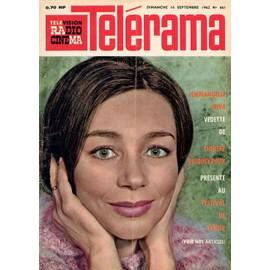 On devrait pas vieillir Telerama-Du-16-Septembre-1962-N-661-Emmanuelle-Riva-Couverture-2p-Pierre-Henri-Simon-Revue-832853891_ML