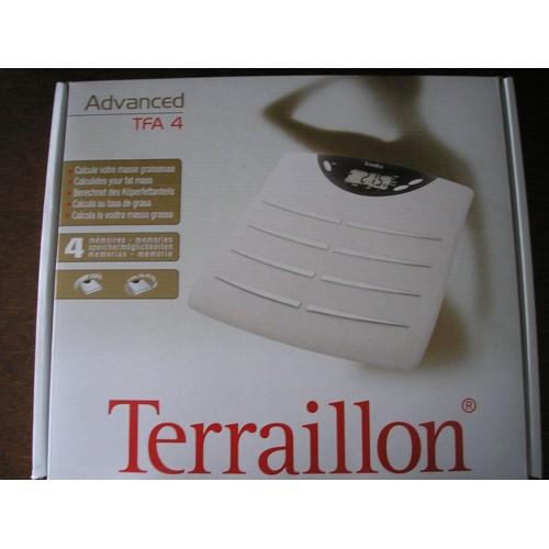 terraillon advanced tfa4 p se personne imp dancem tre. Black Bedroom Furniture Sets. Home Design Ideas