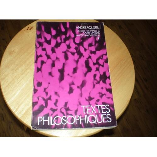 philosophie notions et textes classes terminales c d e f11