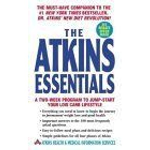 the atkins essentials a two week program to jump start your low carb lifestyle