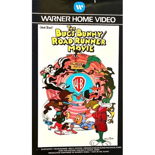 the bugs bunny road runner movie vhs priceminister