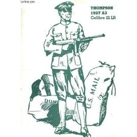 Thompson 1927 A3, Calibre 22 Lr de Sofarme S A