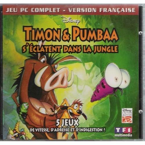 Timon et pumba s 39 clatent dans la jungle achat et vente - Les aventures de timon et pumba ...