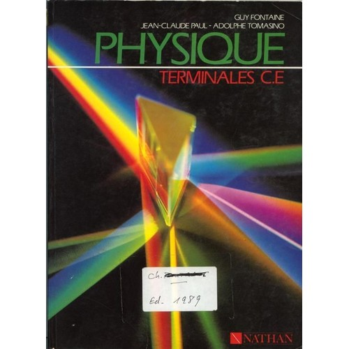 physique terminales c e