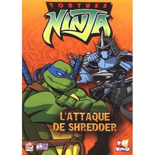 Tortues ninja l 39 attaque de shredder dvd zone 2 rakuten - Tortue ninja 2003 ...