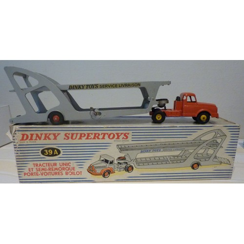 Tracteur unic et semi remorque porte voitures boilot - Semi remorque porte voiture occasion ...