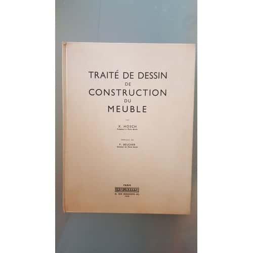 traite de dessin de construction du meuble achat et