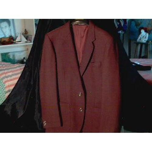 tr s belle veste de costume woolmark rouge bordeaux pure laine vierge pour soir e ou c r monie. Black Bedroom Furniture Sets. Home Design Ideas