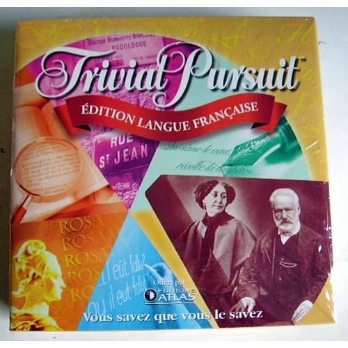 trivial pursuit edition langue fran aise boite de voyage. Black Bedroom Furniture Sets. Home Design Ideas