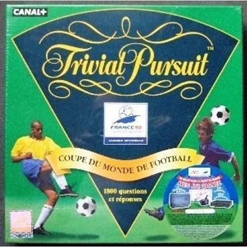 Trivial pursuit coupe du monde de foot 98 achat et vente - Jeux de foot de la coupe du monde ...