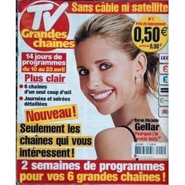 tv grandes chaines n 1 du 10 04 2004 achat vente neuf occasion. Black Bedroom Furniture Sets. Home Design Ideas