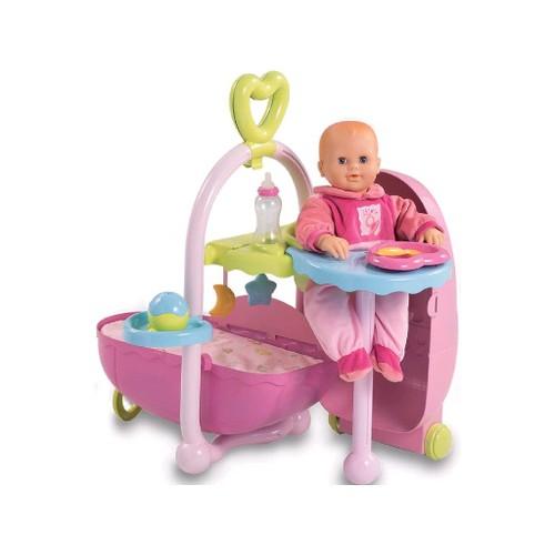 Smoby  24032  Poupée et Mini Poupée  Baby Nurse  Valise Nursery Boutique
