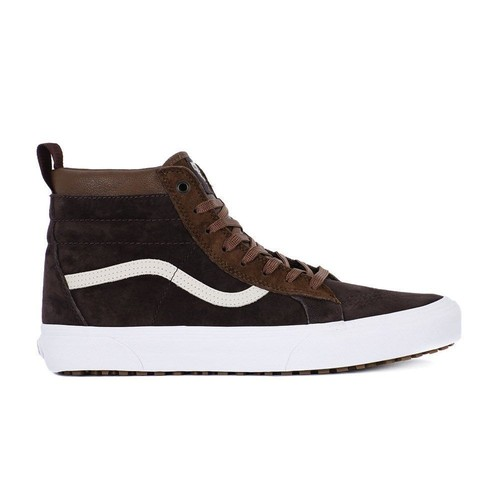 Chaussures Vans Y Sk8-Hi Mte - Castor Grey-Gris k0OUGfN6pS