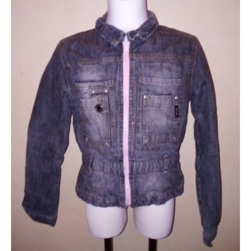7e070ef4ffa0 veste en jean fille 12 ans pas cher ou d occasion sur Rakuten
