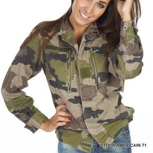 Veste militaire femme solde