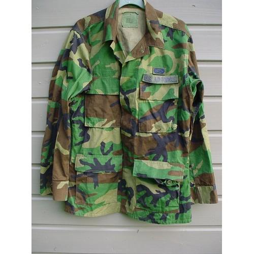 Veste militaire achat vente neuf d 39 occasion - Treillis militaire occasion ...