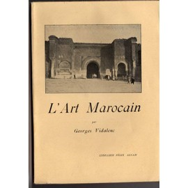 L'art Marocain de georges vidalenc