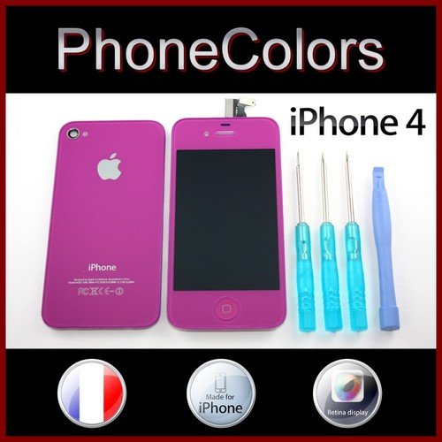 acheter vitre couleur iphone 4 pas cher ou d 39 occasion sur priceminister. Black Bedroom Furniture Sets. Home Design Ideas
