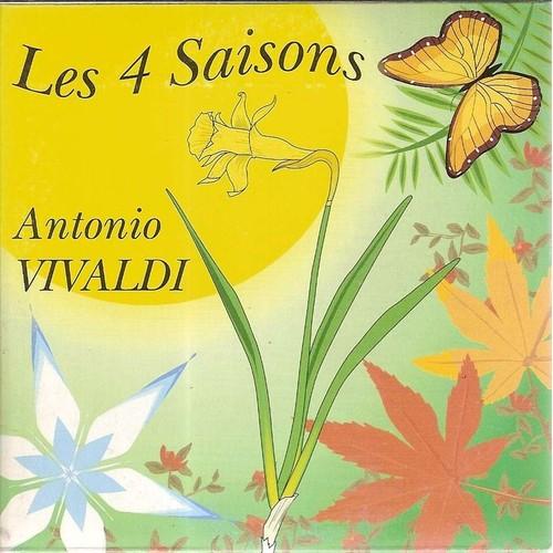 Les 4 saisons antonio vivaldi cd single priceminister for Le jardin des 4 saisons pusignan