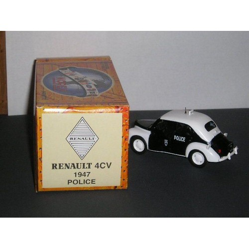 voiture de police renault 4 cv 1947 neuf et d u0026 39 occasion