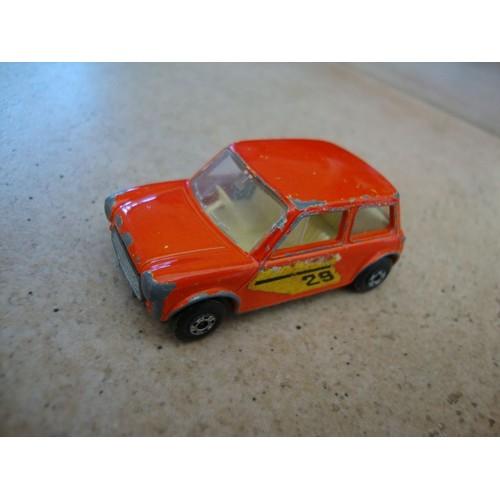 voiture miniature matchbox superfast s ries n 29 racing mini 1970. Black Bedroom Furniture Sets. Home Design Ideas