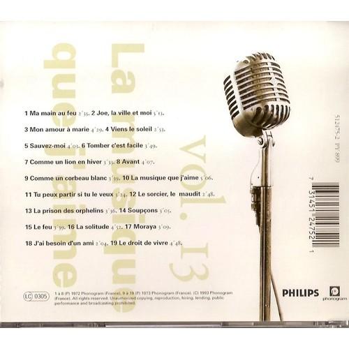 Vol 13 toute la musique que j 39 aime 1972 1973 cd album - Toute la cuisine que j aime ...