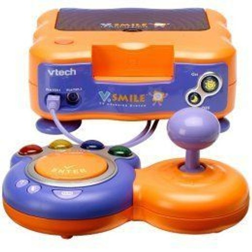 console vtech v smile vsmile orange achat et vente priceminister rakuten. Black Bedroom Furniture Sets. Home Design Ideas