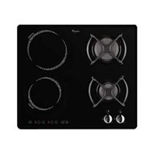 Whirlpool akm476ne table de cuisson mixte induction et - Table de cuisson mixte gaz vitroceramique ...