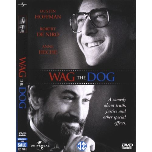 wag the dog by barry levinson 'wag' was in the area of satirical absurdism and now we are living in absurdism, says the oscar-winner on christmas day, 1997, director barry levinson's political satire wag the dog hit .
