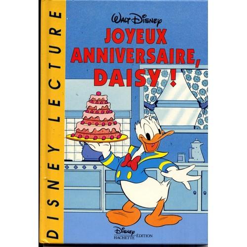 Joyeux Anniversaire Daisy De Disney Format Album Rakuten