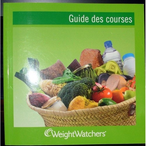 guide des courses weight watchers pdf