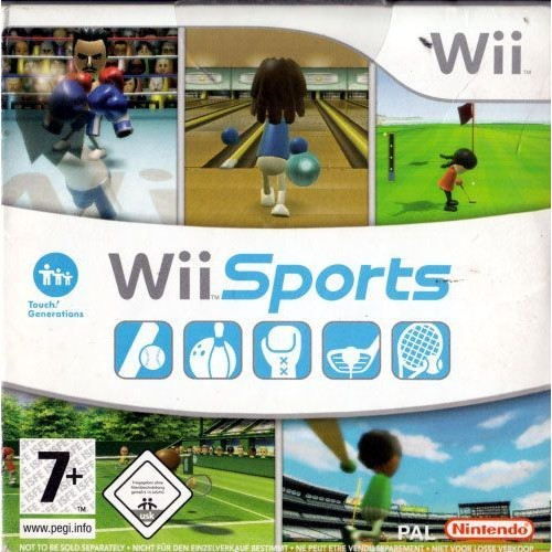 wii sports pas cher achat vente priceminister rakuten. Black Bedroom Furniture Sets. Home Design Ideas