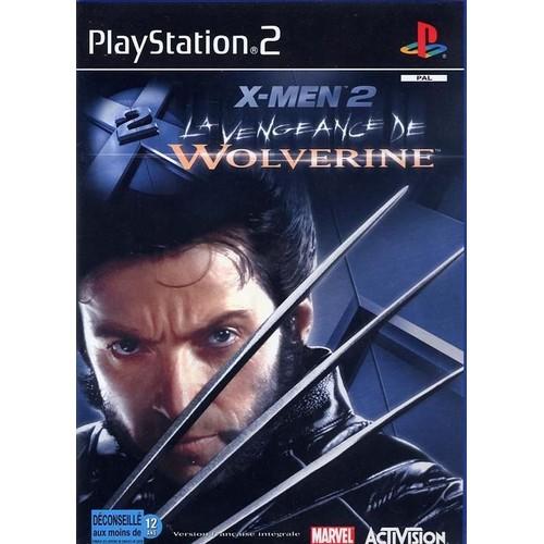 x men 2 la vengeance de wolverine achat vente de jeu ps2 rakuten. Black Bedroom Furniture Sets. Home Design Ideas