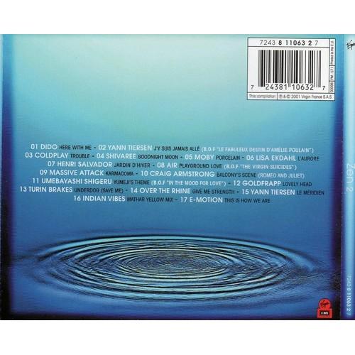 Compilation zen 2 achat vente de cd album priceminister rakuten - Priceminister frais de port ...