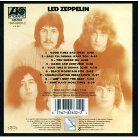 LED ZEPPELIN I [EDITION REMASTERISEE]LED ZEPPELIN - France - LED ZEPPELIN I [EDITION REMASTERISEE]LED ZEPPELIN - France